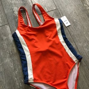 🔥🔥RVCA - JULY COLOR BLOCKED ONE PIECE🔥🔥